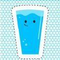 快乐玻璃杯水杯千杯冰