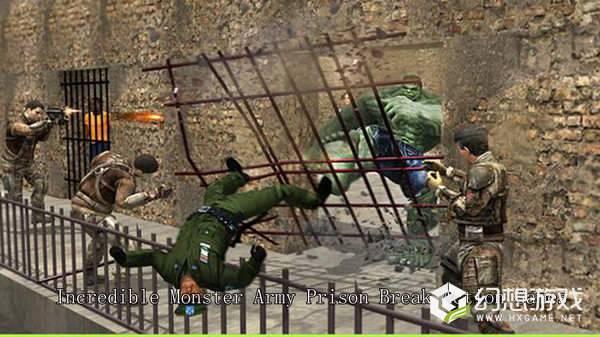 怪物军队越狱图1
