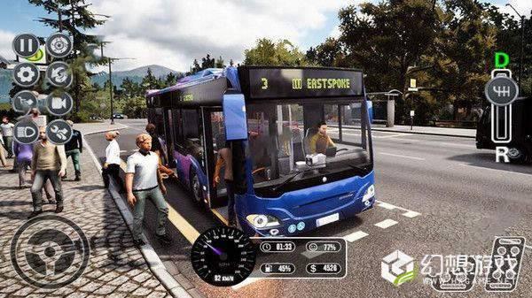 欧洲乘客巴士运输图1