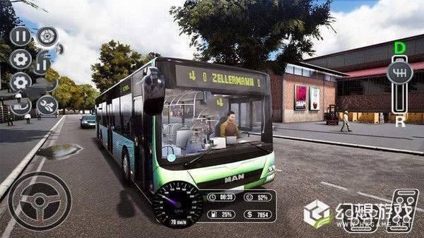 欧洲乘客巴士运输图2