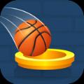 篮球明星疯狂投球