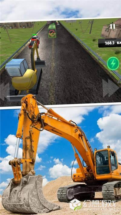 模拟驾驶挖掘机3D图4