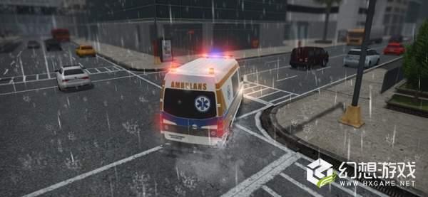 救护车紧急救护模拟真实救援图4