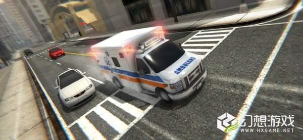 救护车紧急救护模拟真实救援图1