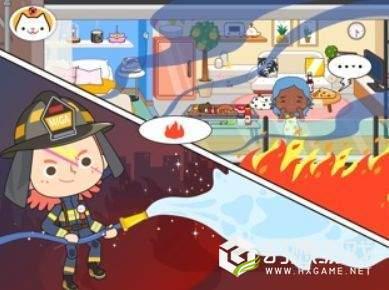 加米小镇之消防员图3