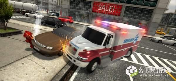 救护车紧急救护模拟真实救援图3