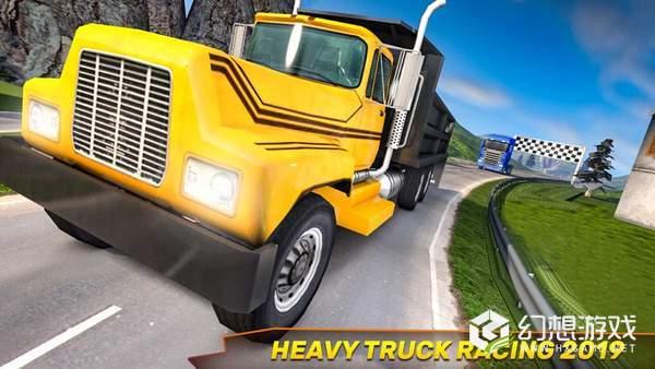 完美的卡车比赛3D图1