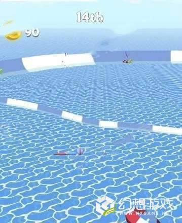水上乐园赛跑图1