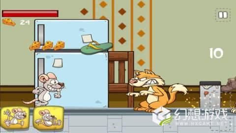 老鼠大战二猫图1