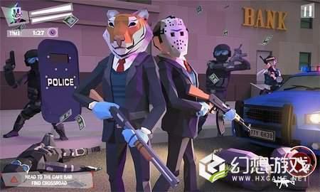 洛杉矶犯罪银行劫掠图1