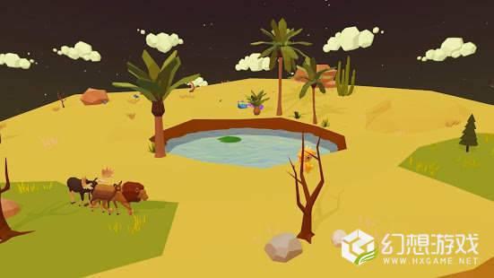 矿山沙漠绿洲图2