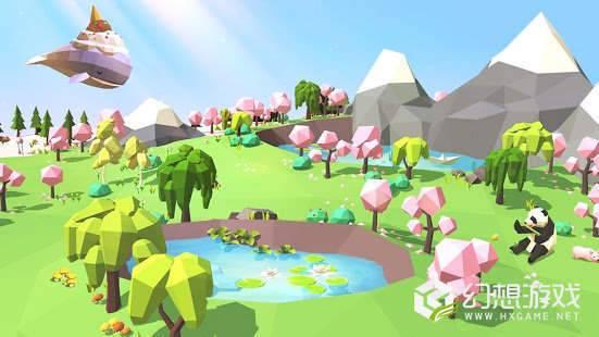 矿山沙漠绿洲图1