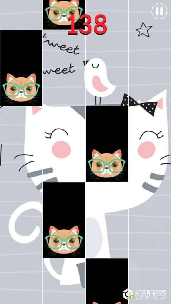 凯蒂猫钢琴块图1