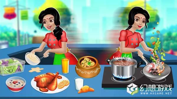 印度美食烹饪餐厅图2