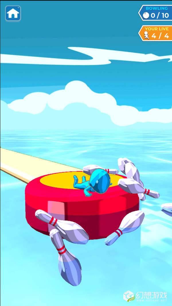 水上滑行保龄球图2