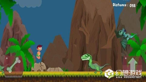 恐龙岛的穴居人图3