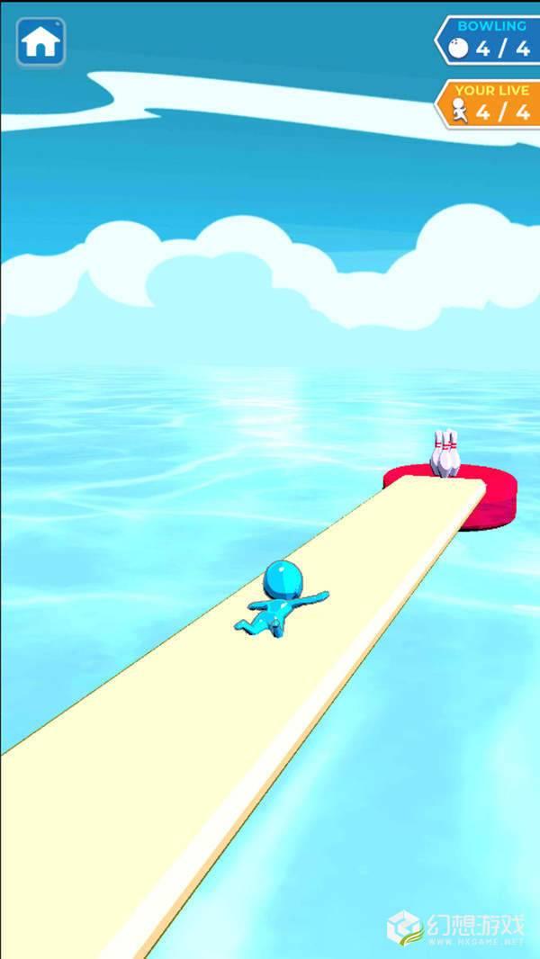 水上滑行保龄球图3
