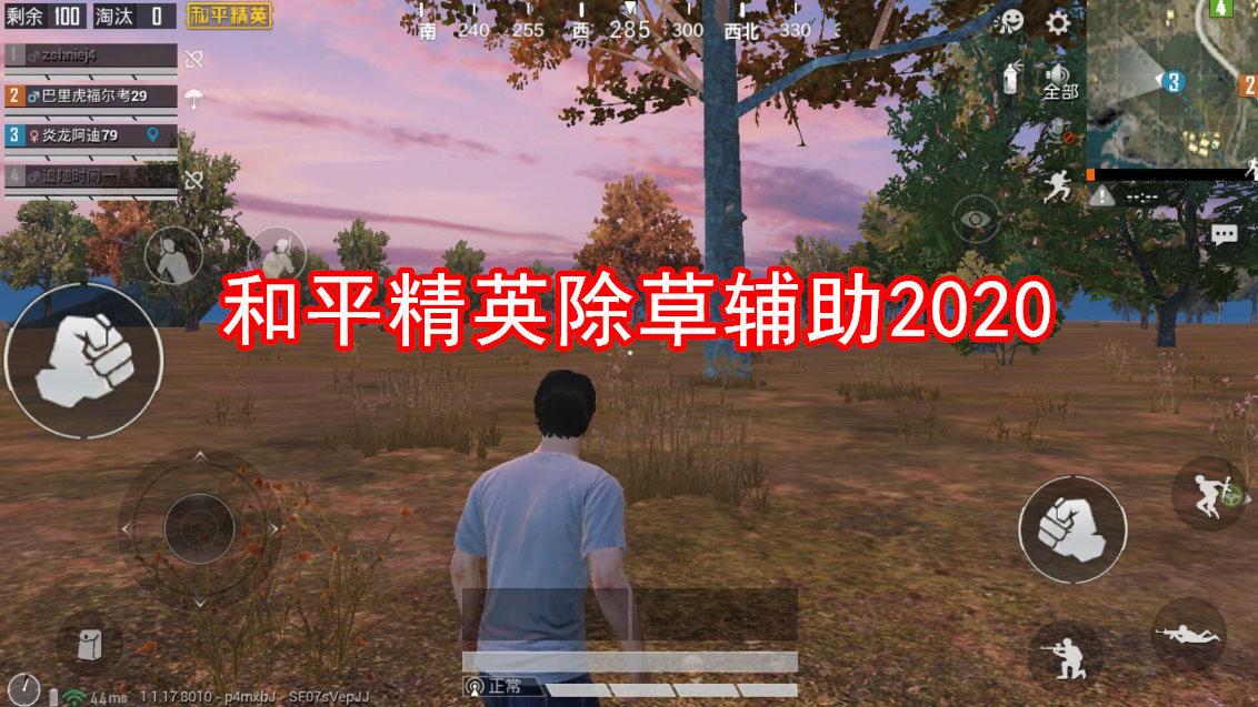 和平精英除草辅助2020