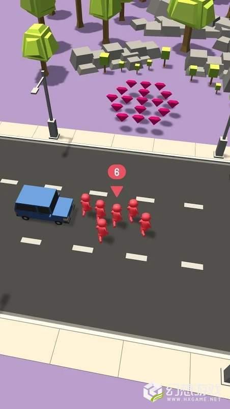 人群VS交通图1