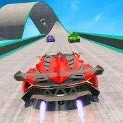 极端赛车高速行驶