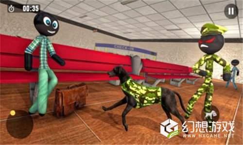 火柴人军犬模拟器图1