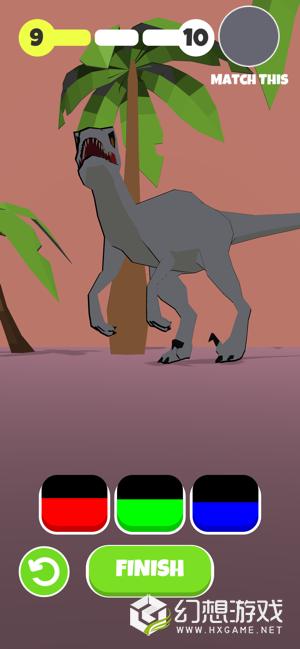 动物颜色3D图1