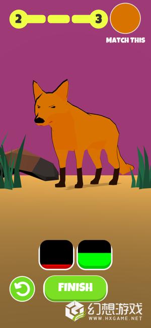 动物颜色3D图2