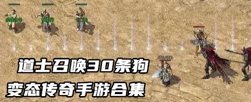 道士召唤30条狗变态传奇手游合集