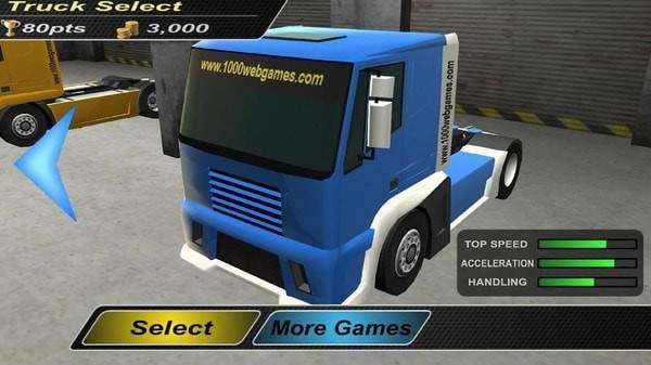 卡车驾驶3D赛车