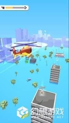 直升机飞行救援图2