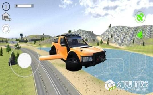 飞翔汽车之城3D图2