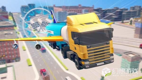 未来派飞行卡车图2