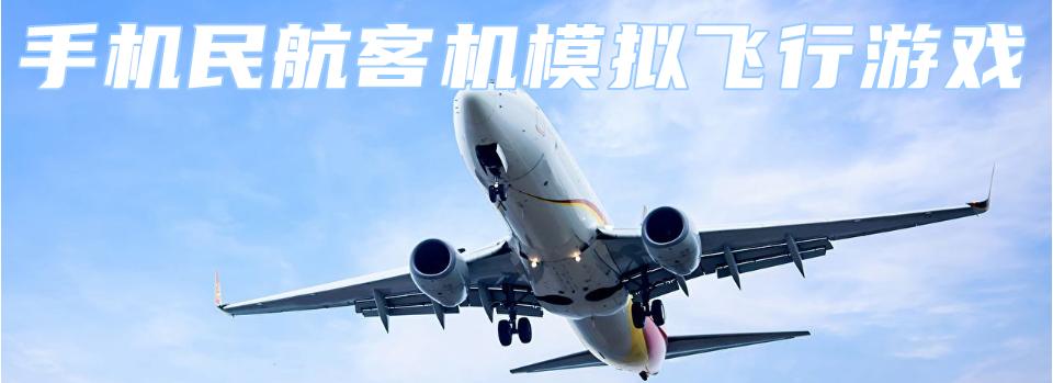 手机民航客机模拟飞行游戏