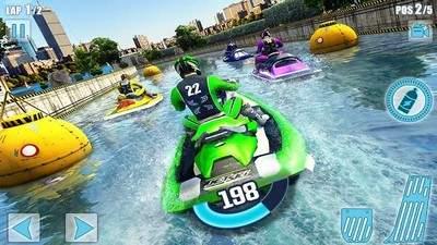 水上摩托艇竞赛3D手游