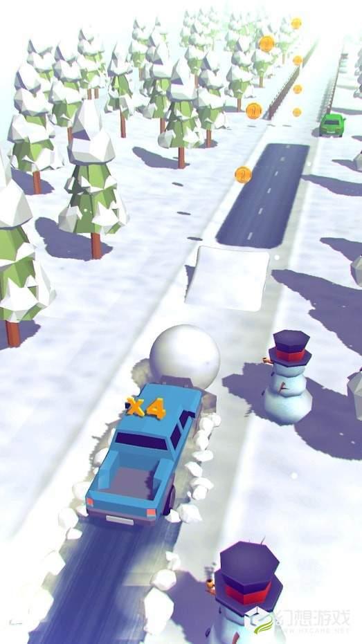旋转式清雪机手游图2