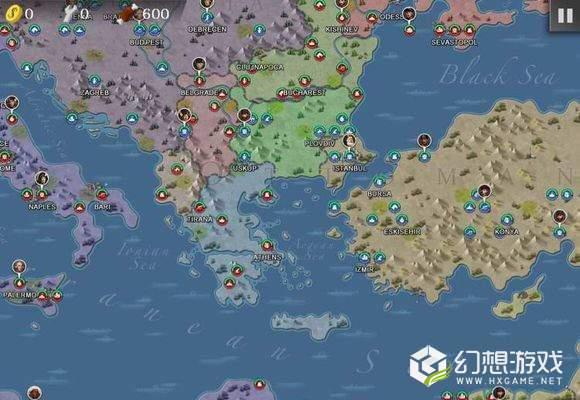 欧陆战争4一战mod安卓版图2