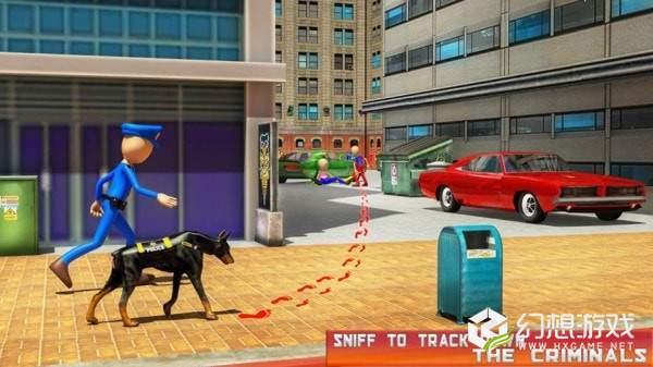 火柴人警犬模拟器图1