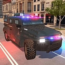 美国警车驾驶模拟器