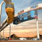 高架列车驾驶模拟器