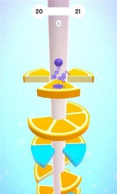 螺旋水果塔3D图2
