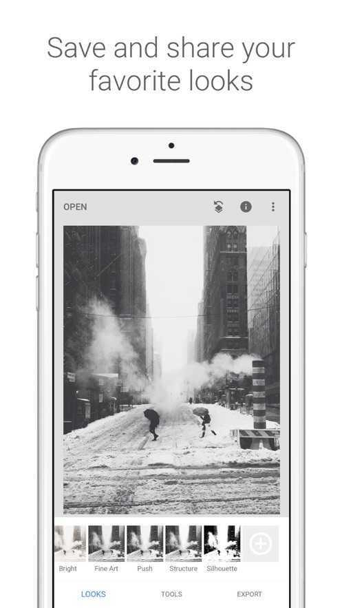 Snapseed手机修图软件中文版图4