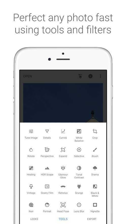 Snapseed手机修图软件中文版图2