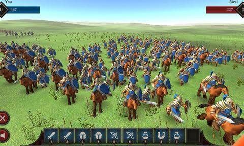 真实史诗战斗模拟器图2
